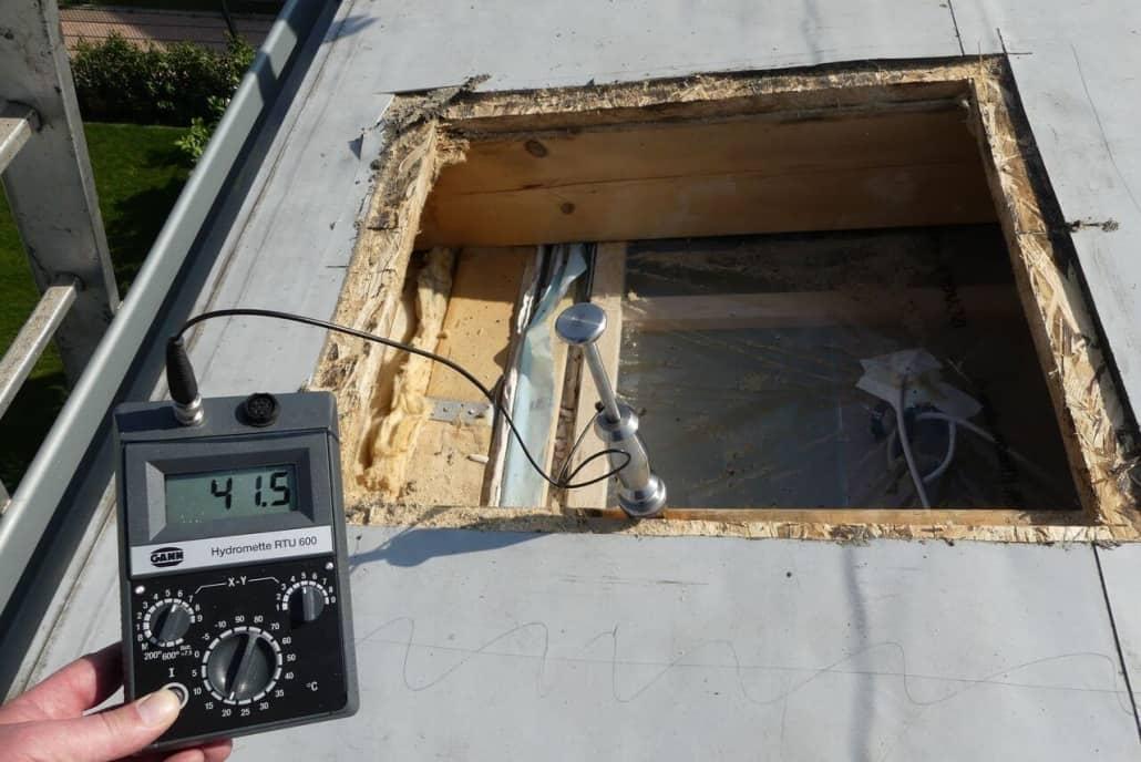 Bauteilöffnung - Sachverständiger für Flachdächer und Steildächer