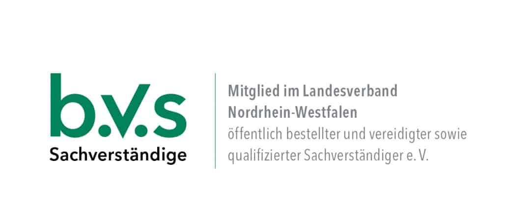 Christian Faßbender - Mitglied im Bundesverband öffentlich bestellter und vereidigter sowie qualifizierter Sachverständiger e.V. (BVS)